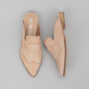Mi.iM The Kendrick Pointed Toe Mule NWOTB Size 7